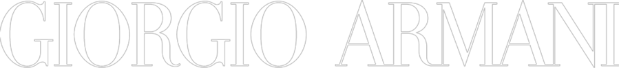 Giorgio Armani Logo weiss