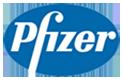 Pfizer Logo weiss