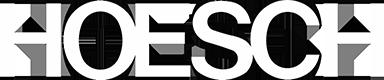 Hoesch Logo weiss